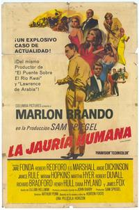 The Chase - 11 x 17 Movie Poster - Spanish Style A