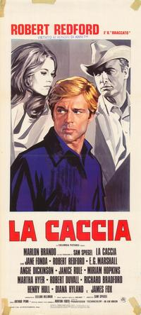 The Chase - 11 x 17 Movie Poster - Italian Style A