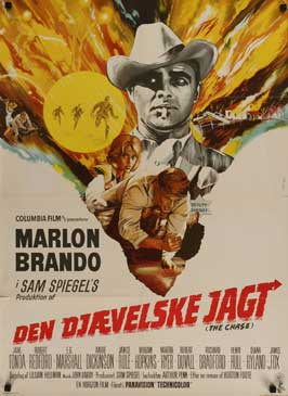 The Chase - 11 x 17 Movie Poster - Danish Style A