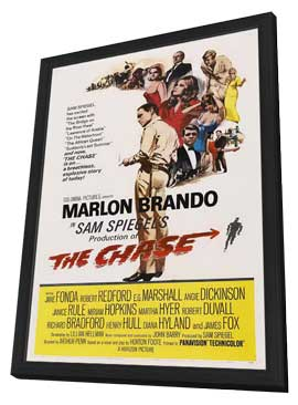 The Chase - 11 x 17 Movie Poster - Style A - in Deluxe Wood Frame