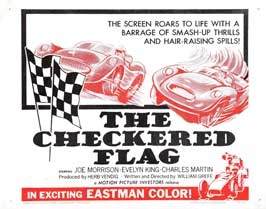 The Checkered Flag - 22 x 28 Movie Poster - Half Sheet Style A