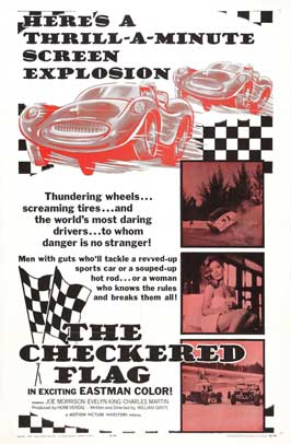 The Checkered Flag - 27 x 40 Movie Poster - Style B