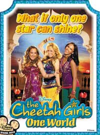 The Cheetah Girls: One World - 27 x 40 Movie Poster - Style A