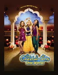 The Cheetah Girls: One World - 11 x 17 Movie Poster - Style B