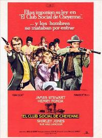 The Cheyenne Social Club - 11 x 17 Movie Poster - Spanish Style A