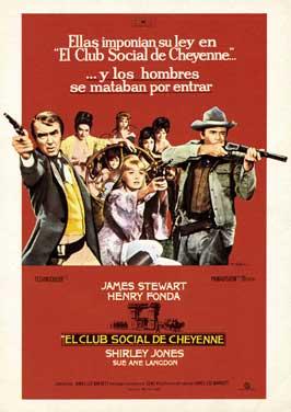The Cheyenne Social Club - 27 x 40 Movie Poster - Spanish Style A