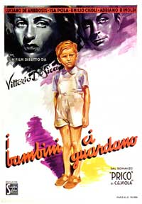 The Children Are Watching Us - 11 x 17 Movie Poster - Italian Style A