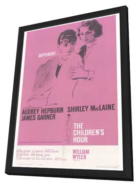 The Children's Hour - 27 x 40 Movie Poster - Style A - in Deluxe Wood Frame