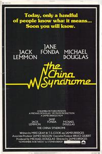 The China Syndrome - 27 x 40 Movie Poster - Style B