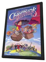 The Chipmunk Adventure - 11 x 17 Movie Poster - Style A - in Deluxe Wood Frame