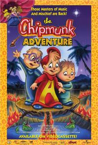 The Chipmunk Adventure - 11 x 17 Movie Poster - Style B