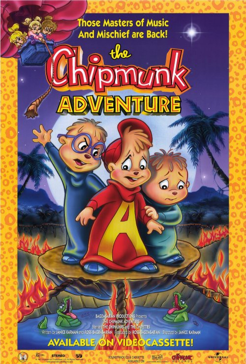The Chipmunk Adventure Movie Posters From Movie Poster Shop