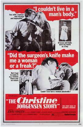 Christine Jorgenson Story - 11 x 17 Movie Poster - Style A