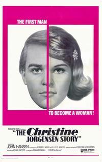 Christine Jorgenson Story - 11 x 17 Movie Poster - Style B