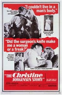 Christine Jorgenson Story - 43 x 62 Movie Poster - Bus Shelter Style A