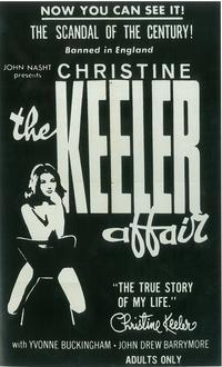 The Christine Keeler Affair - 27 x 40 Movie Poster - Style B