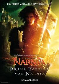 The Chronicles of Narnia: Prince Caspian - 27 x 40 Movie Poster - German Style B