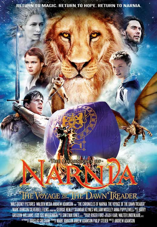 The Chronicles of Narnia: The Voyage of the Dawn Treader - 11 x 17 Movie