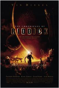 The Chronicles of Riddick - 43 x 62 Movie Poster - Bus Shelter Style A