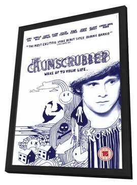 The Chumscrubber - 11 x 17 Movie Poster - UK Style A - in Deluxe Wood Frame
