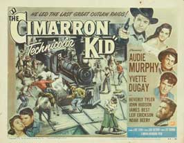 The Cimarron Kid - 22 x 28 Movie Poster - Half Sheet Style A