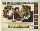 The Cincinnati Kid - 22 x 28 Movie Poster - Half Sheet Style A