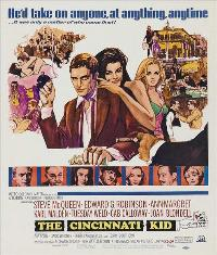 The Cincinnati Kid - 11 x 14 Movie Poster - Style A