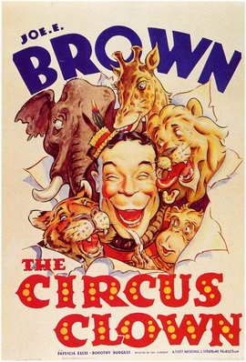 The Circus Clown - 11 x 17 Movie Poster - Style A