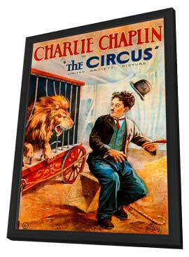 The Circus - 11 x 17 Movie Poster - Style D - in Deluxe Wood Frame