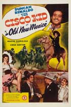 The Cisco Kid In Old New Mexico - 11 x 17 Movie Poster - Style A
