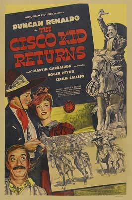 The Cisco Kid Returns - 11 x 17 Movie Poster - Style A