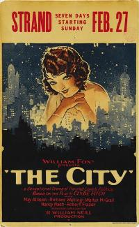 The City - 11 x 17 Movie Poster - Style A