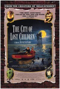 The City of Lost Children - 43 x 62 Movie Poster - Bus Shelter Style A