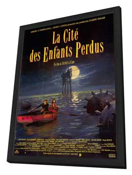 The City of Lost Children - 11 x 17 Movie Poster - French Style A - in Deluxe Wood Frame