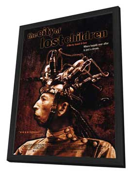 The City of Lost Children - 27 x 40 Movie Poster - Style A - in Deluxe Wood Frame
