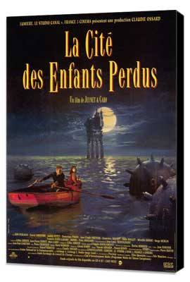 The City of Lost Children - 11 x 17 Movie Poster - French Style A - Museum Wrapped Canvas