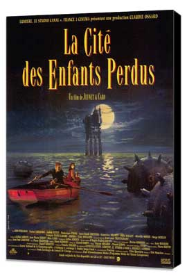 The City of Lost Children - 30 x 40 Movie Poster - French Style A - Museum Wrapped Canvas