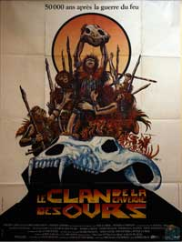 The Clan of the Cave Bear - 11 x 17 Movie Poster - French Style A