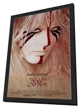 The Clan of the Cave Bear - 11 x 17 Movie Poster - Style A - in Deluxe Wood Frame