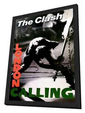 The Clash - 11 x 17 Music Poster - Style A - in Deluxe Wood Frame