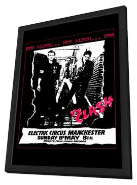 The Clash - 11 x 17 Music Poster - Style B - in Deluxe Wood Frame