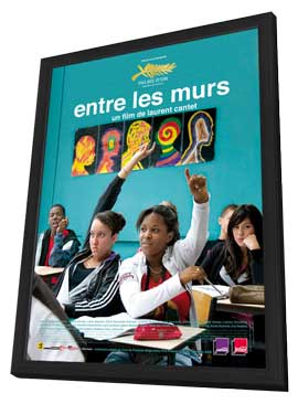 The Class - 11 x 17 Movie Poster - French Style A - in Deluxe Wood Frame