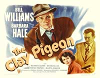 The Clay Pigeon - 22 x 28 Movie Poster - Half Sheet Style A