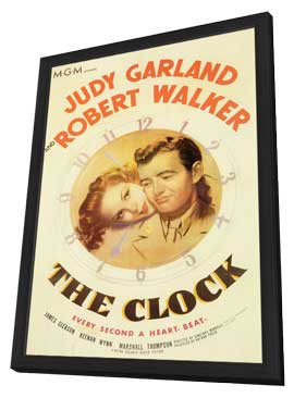 The Clock - 11 x 17 Movie Poster - Style A - in Deluxe Wood Frame