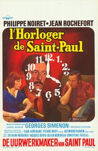 The Clockmaker of St. Paul - 27 x 40 Movie Poster - Belgian Style A