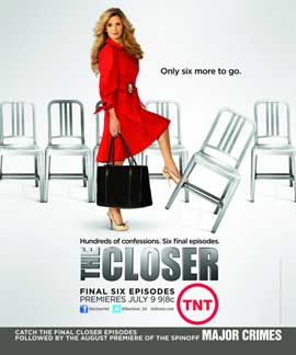 The Closer (TV) - 11 x 14 TV Poster - Style A