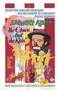 Clown and the Kids - 43 x 62 Movie Poster - Bus Shelter Style A