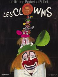 The Clowns - 11 x 17 Movie Poster - French Style A