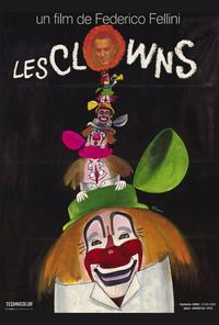 The Clowns - 27 x 40 Movie Poster - French Style A