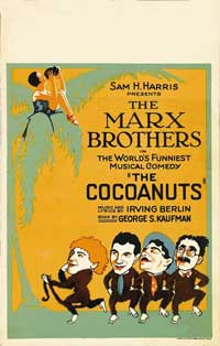 The Cocoanuts - 43 x 62 Movie Poster - Bus Shelter Style B